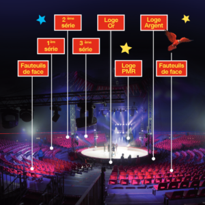 Plan du chapiteau - Festival International du Cirque