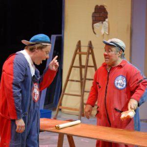 2006-2007 - FRISCO et ANDRE présents au Festival du Cirque