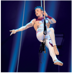 ALEXANDER LICHNER au festival international du cirque Val de Loire